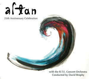 Altan's 25 Anniversary Celebration CD Cover